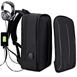 Laptop Backpack Lightweight, Business Computer Bag, Anti Theft Backpack,Water Resistant Oxford Travel Bag with USB Charging Port for College Students, Fits up to 15.6 Inch Laptop/Notebook by XQXA