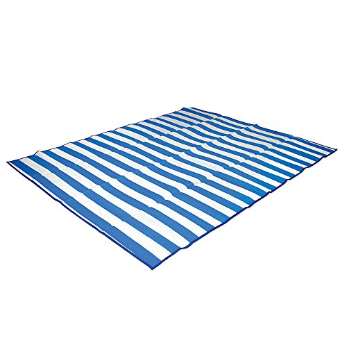 Stansport 507-50 Tatami Straw Ground Mat, Blue