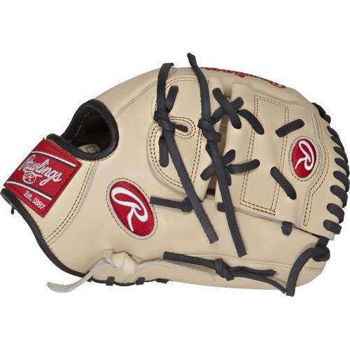 Rawlings Pro Preferred Baseball Glove, Right Hand, 2-Piece Solid Web, 11-3/4 Inch