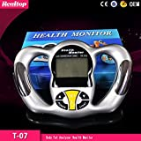 Body Fat Analyzer Monitor Digital Bmi Tester Health Hbf Loss New Calculator Handheld 306c Meter Mass Caliper LCD Index