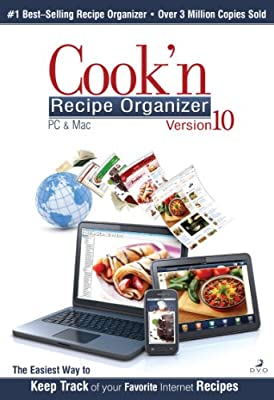 Cook'n Recipe Organizer Version 10 [Download]