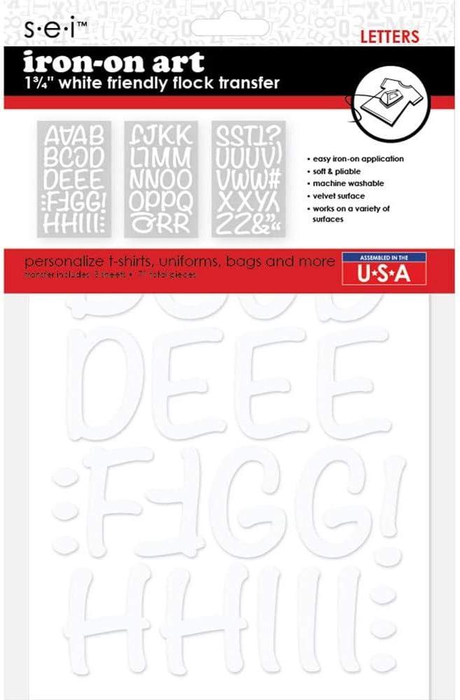 S/·E/·I SEI Friendly Letters 1.75-Black
