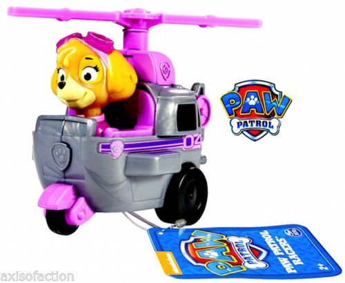 Nickelodeon Paw Patrol Skye Helicopter Racer NWT
