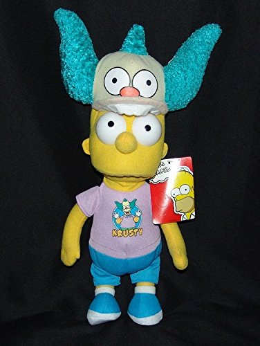Krusty The Clown Costumes - Bart Simpson in Krusty the Clown