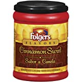 Folgers Cinnamon Swirl Coffee, 11.5 Ounce Features