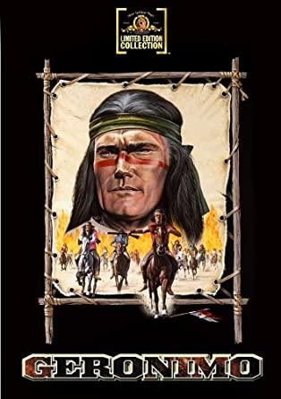 Image result for chuck connors geronimo images