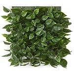 AUF001-10-Inch-Plastic-Bougainvillea-Leaf-Wall-Mat-Signature-Foliage