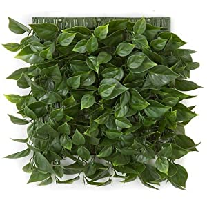 10 Inch Plastic Bougainvillea Leaf Wall Mat Signature Foliage 13