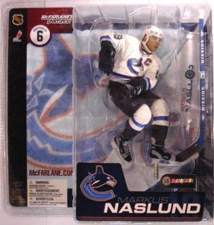 McFarlane Toys NHL Sports Picks Series 6 Action Figure: Markus Naslund (Vancouver Canucks) White Jersey VARIANT ()
