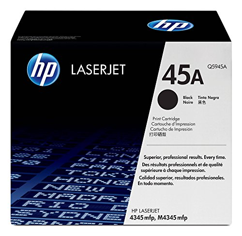 HP 45A (Q5945A) Black Toner Cartridge for HP LaserJet 4345