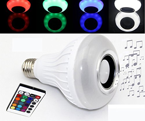 Samxu LED Color Changing Light Bulb with Remote Control Different Color Choices Smooth, Flash or Strobe Mode- Energy Saving Lamps- Great For Decoration Parties and More (Gu10 Hue Starter Pack)