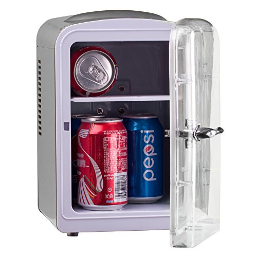 Generic DC12V ABS Mini Truck Car Compact Refrigerator AC110V Thermoelectric Cooler Warmer Fridge Travelling Camping Soda Camper by SMETA (Image #5)'