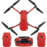 Drone Fans Universal Waterproof Carbon Graphic Body Remote Controller Battery Arm Skin Stickers Decals Wrap for DJI MAVIC PRO