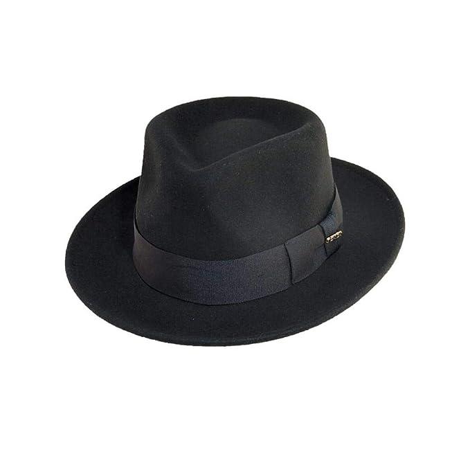 Scala Classico Men s Crushable Wool Felt Fedora  Amazon.ca  Clothing ... cb71287c3082