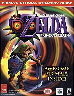 Prima games releasing a majora's mask collector's edition strategy.