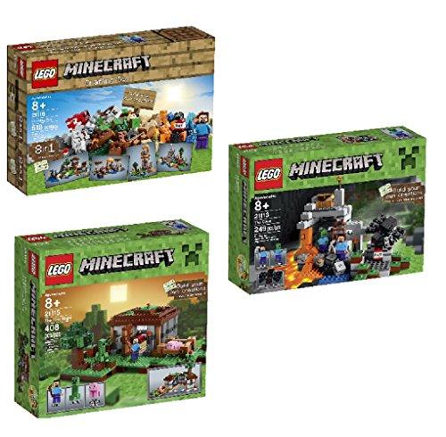 Bundle Minecraft 21116 Crafting Playset
