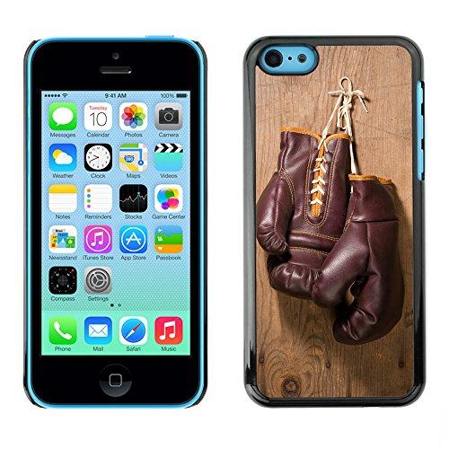 Hülle Case Schutzhülle Cover Premium Case // V00002568 Boxhandschuhe // Apple iPhone 5C