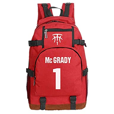 Mochila Tracy McGrady para niños, Mochila Star del jugador de ...