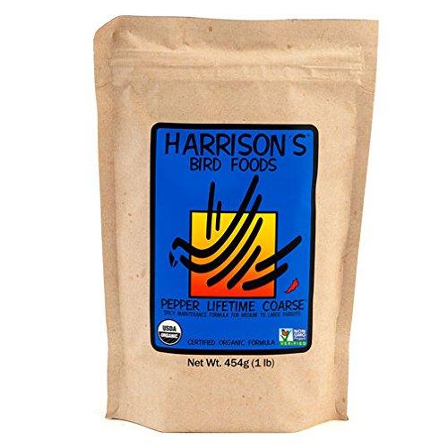 Harrison's Organic Pepper Lifetime Coarse 1 Lb. by Harrison's Bird Foods