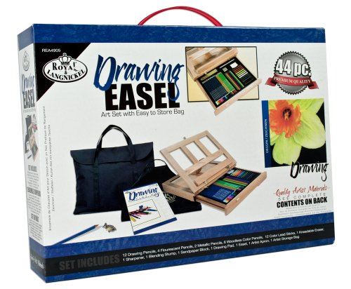 (Royal & Langnickel Drawing Easel Art Set with Easy to Store Bag)