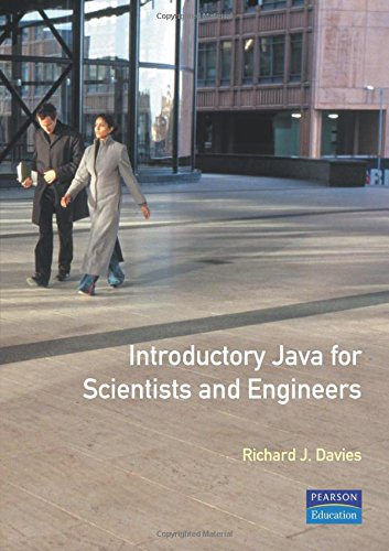 Introductory Java for Scientists and Engineers