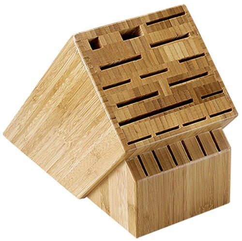 Shun 22-Slot Bamboo Knife Storage Block by Shun