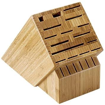 Shun 22 Slot Bamboo Knife Storage Block