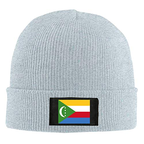 ChunLei Comoros Flag Unisex Warm Winter Wool Hat Knit Beanie Skull Cap