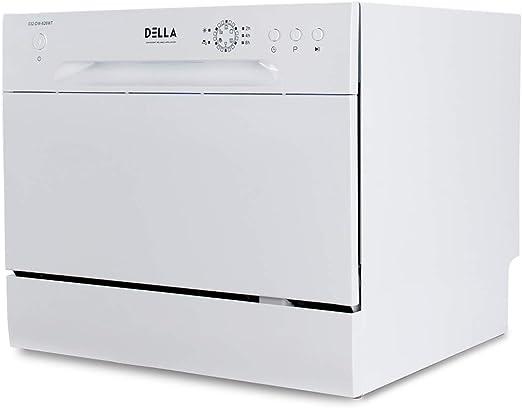 Amazon.com: Della - Lavavajillas compacto portátil de acero ...