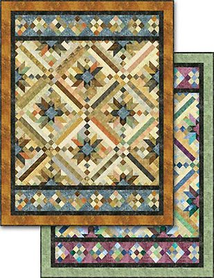Whirligig Deisgns Smokey River Jelly Roll Quilt Pattern