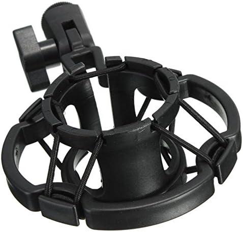 Moligh doll Universal Professional Condenser Microphone Mic Shock Mount Holder Studio Recording Bracket For Large Diaphram Mic Clip