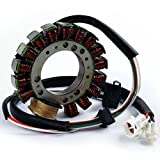 XMT-MOTO Motorcycle Stator Coil For Yamaha Warrior 350 YFM350 1996-2001(Replaces:3HN-85510-10-00)