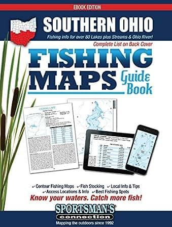 Amazon.com: Southern Ohio Fishing Map Guide eBook: Sportsman\'s ...