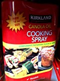 Kirkland Signature Canola Oil Cooking Spray 16 Oz - 2 Pack
