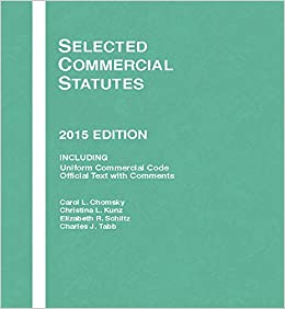 Selected Commercial Statutes: 2015 Edition (Selected Statutes)