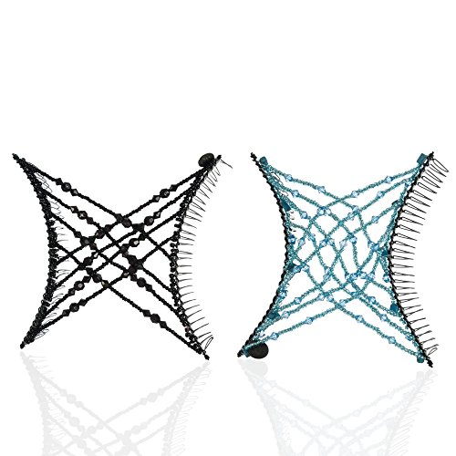 HairZing Criss Cross Accessory Perfect Turquoise