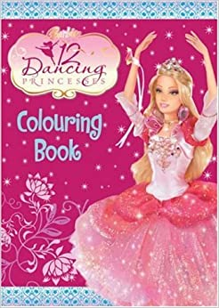 Barbie And The 12 Dancing Princesses Colouring Book