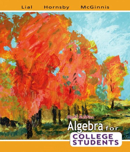 Algebra for College Students plus MyMathLab Student Access Kit (6th Edition)