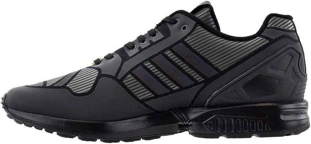 adidas ZX Flux Mens Fashion-Sneakers B54177/_12 CBLACK,CLAQUA,FTWWHT