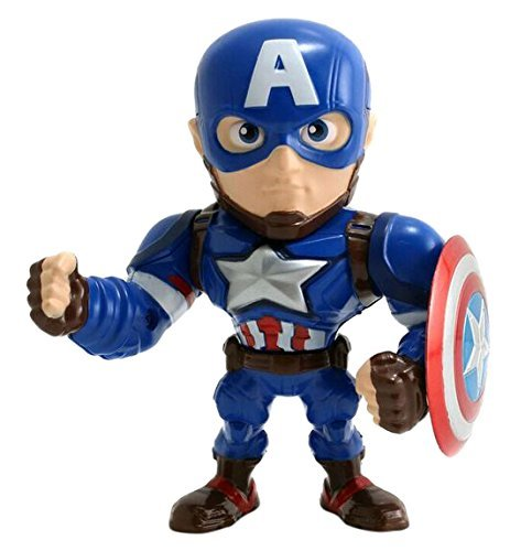 Metals Marvel 4 inch Movie Figure - Captain America (M45)