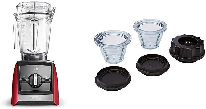 Batidora Vitamix Ascent A2300i Roja + Pack 2 vasos Ascent 225ml ...