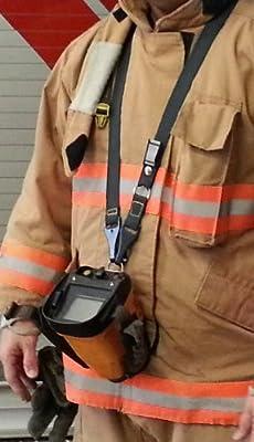 Sav-A-Jake Thermal Imager Camera Strap - KEVLAR - 3M Silver Scotchlite Reflective Breakaway Tab