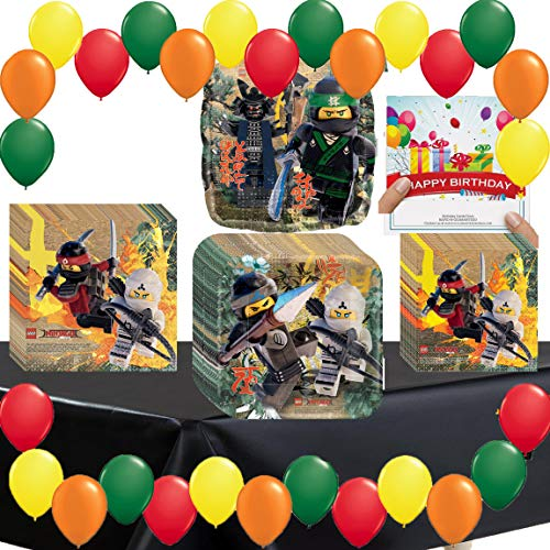 The Lego Ninjago Movie Deluxe Party Pack -