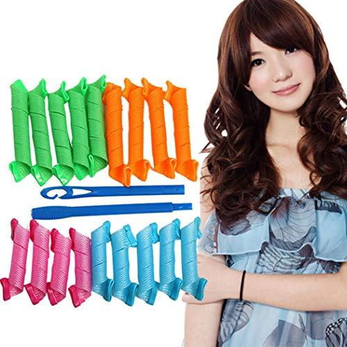 Goodfans Durable DIY Hair Curler Home Hair Rollers Hair Styling T Hair Rollers