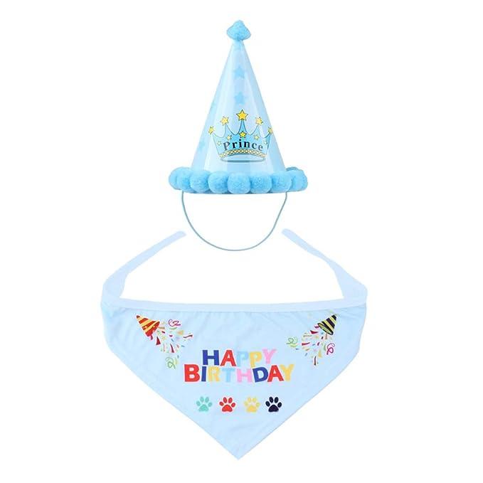 Souarts - Sombrero de cumpleaños para Animales de compañía ...