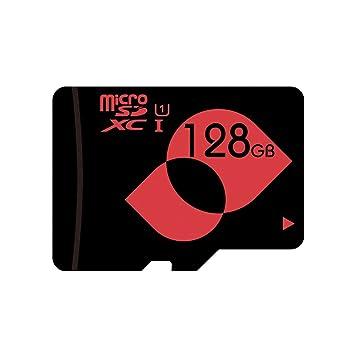 MENGMI 128gb tarjeta micro sd de alta capacidad microSDXC Class 10 U1 Memory tarjeta micro SD de 128 GB con microSD a SD Adapter para cámara de ...