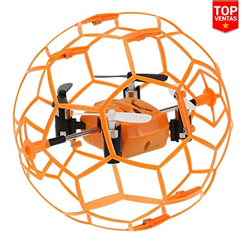 Mini Drone Rc Pelota ¡Casi Irrompible! | Ideal para Interiores | Iniciación | Juguetes Niños