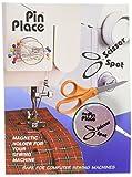 Blue Feather Scissor Spot/Pin Place Magnetic