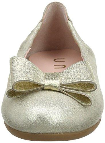 Unisa Mädchen Crosi_mts_lmt Geschlossene Ballerinas Gold (Platino)