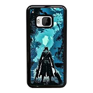 HTC One M9 Cell Phone Case Black Bloodborne ST1YL6698886